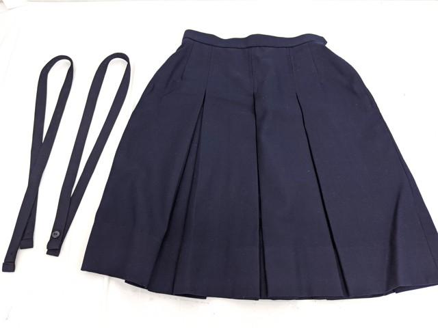 h32 東松山市立東中学校 ブレザー+ベスト+冬服スカート/yt2445【9XKD】