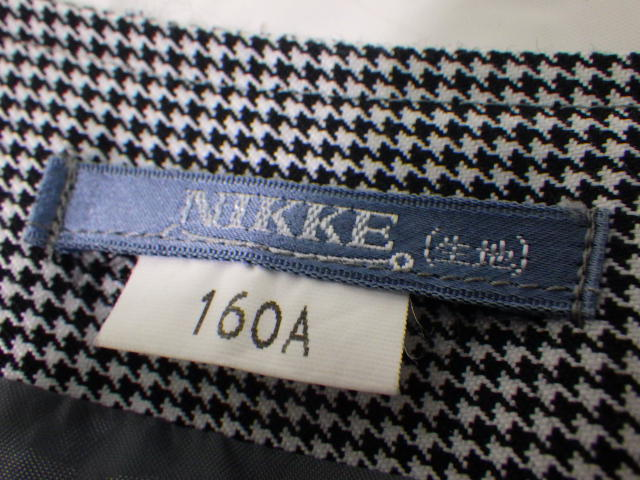 S23 名東高校 半袖・長袖シャツ+ベスト+ニットベスト夏服スカート+/yt1958【1LKEH】