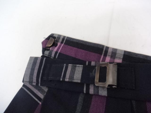 r84 大阪国際大和田高等学校 夏服セーラー服+スカート+リボン/yt0833【4KGNE】
