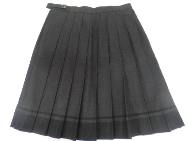 r84 大阪国際大和田高等学校 ブレザー+ブラウス+ベスト+スカート+リボン/yt0834【55KMG】