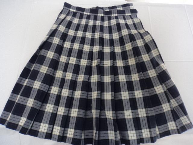 L36 鹿児島県 私立出水中央高等学校 ブラウス+シャツ+スカート+リボン/yt0383