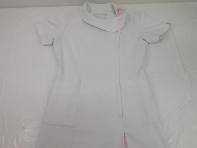 k226 たかまちクリニック ナース服 看護服 infirmiere◆エプロン ナガイレーベン/yt1371【27AT】