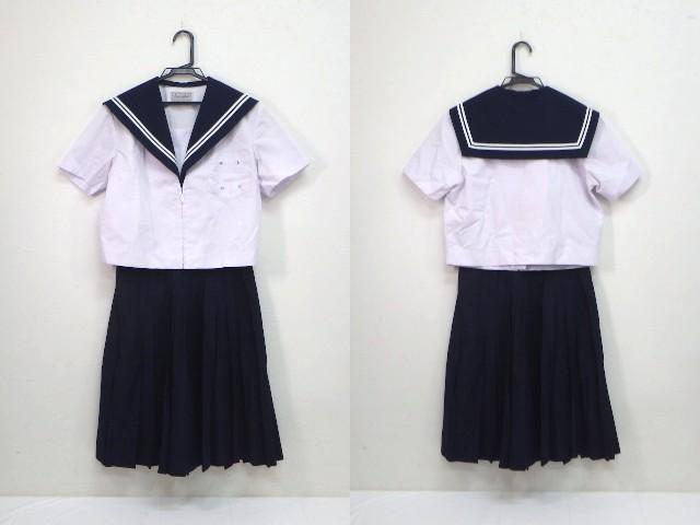 U54 中学校?? 高校?? 夏服セーラー服+夏服スカート/yt2047【6XJS】