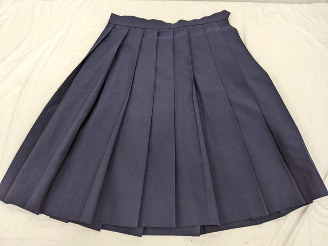 h83 名古屋商業高校 夏服セーラー服+夏服スカート/yt2551【14EDV】
