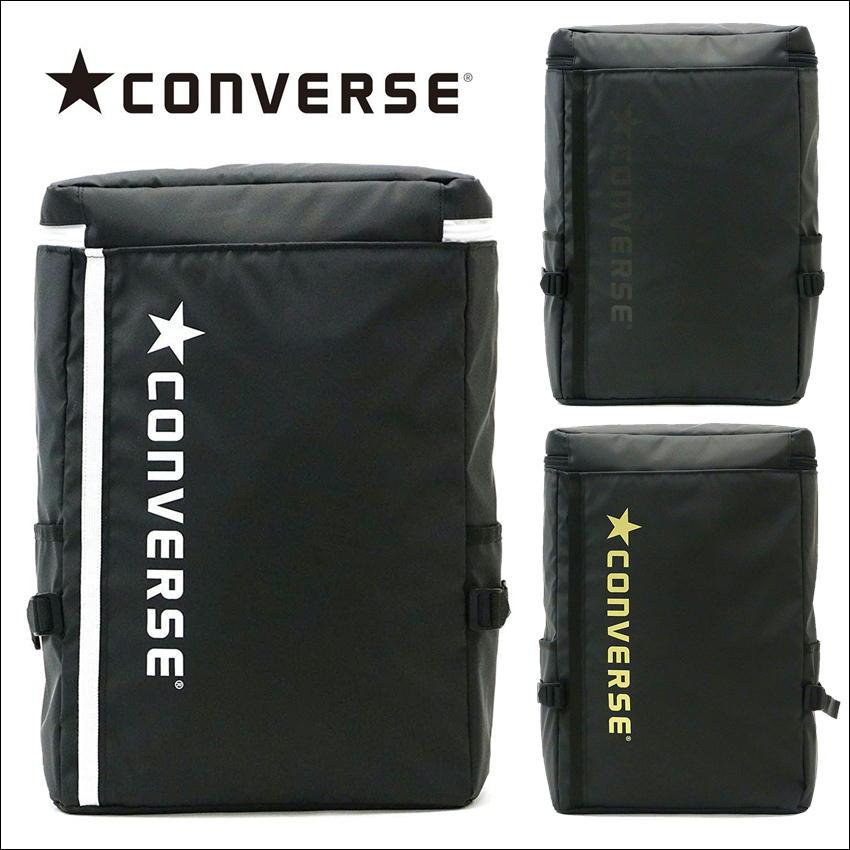 CONVERSEコンバーススクエアリュックサック ブランドバックパック ロゴスクエアデイパック ワンボックス 14615200