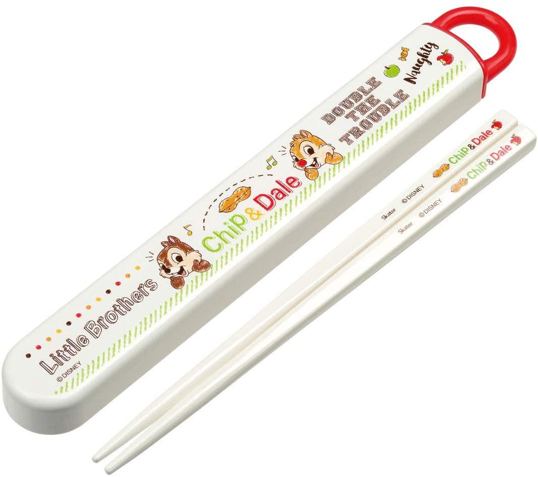 キャラクタースライド式キャラクターはし箱セット 食洗機対応箸 はし 日本製 スケーター ABS2AM