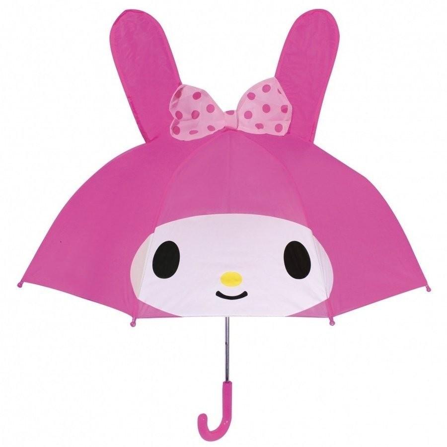 キャラクター 耳付 傘 手開きタイプ かさ 47cm 耳 かさ サンリオ サンエックス