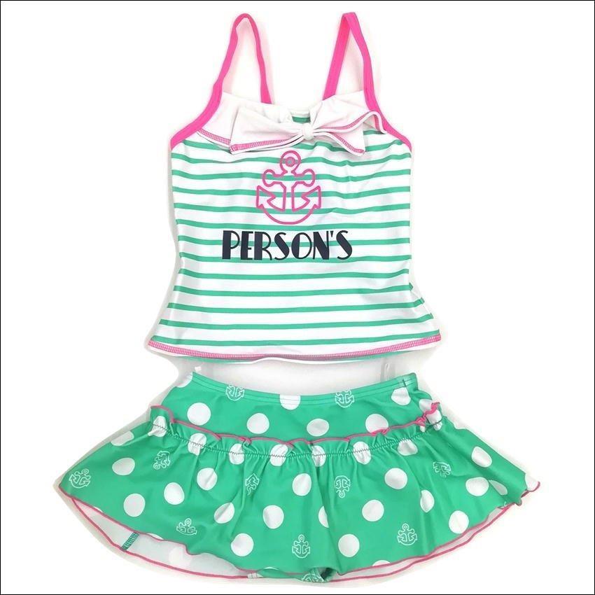 水着 女の子 パーソンズ ブランド水着 セパレート スイムウエア 女児  PERSON'S 夏 サマー 海 プール