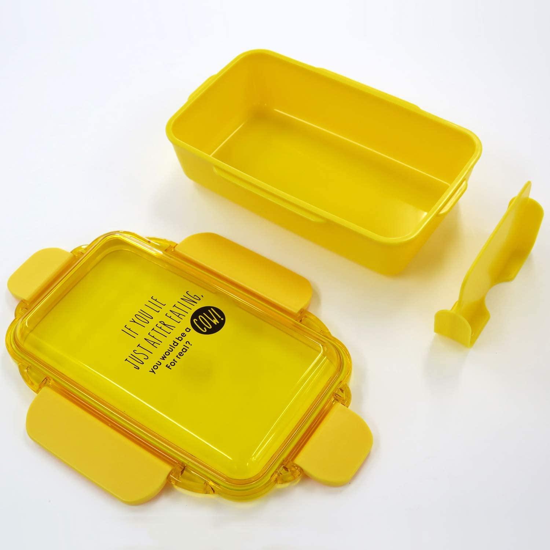 4点ロック式 お弁当箱 ランチボックス 500ml DISH UP LUNCH 日本製弁当箱  オーエスケー PCD-500