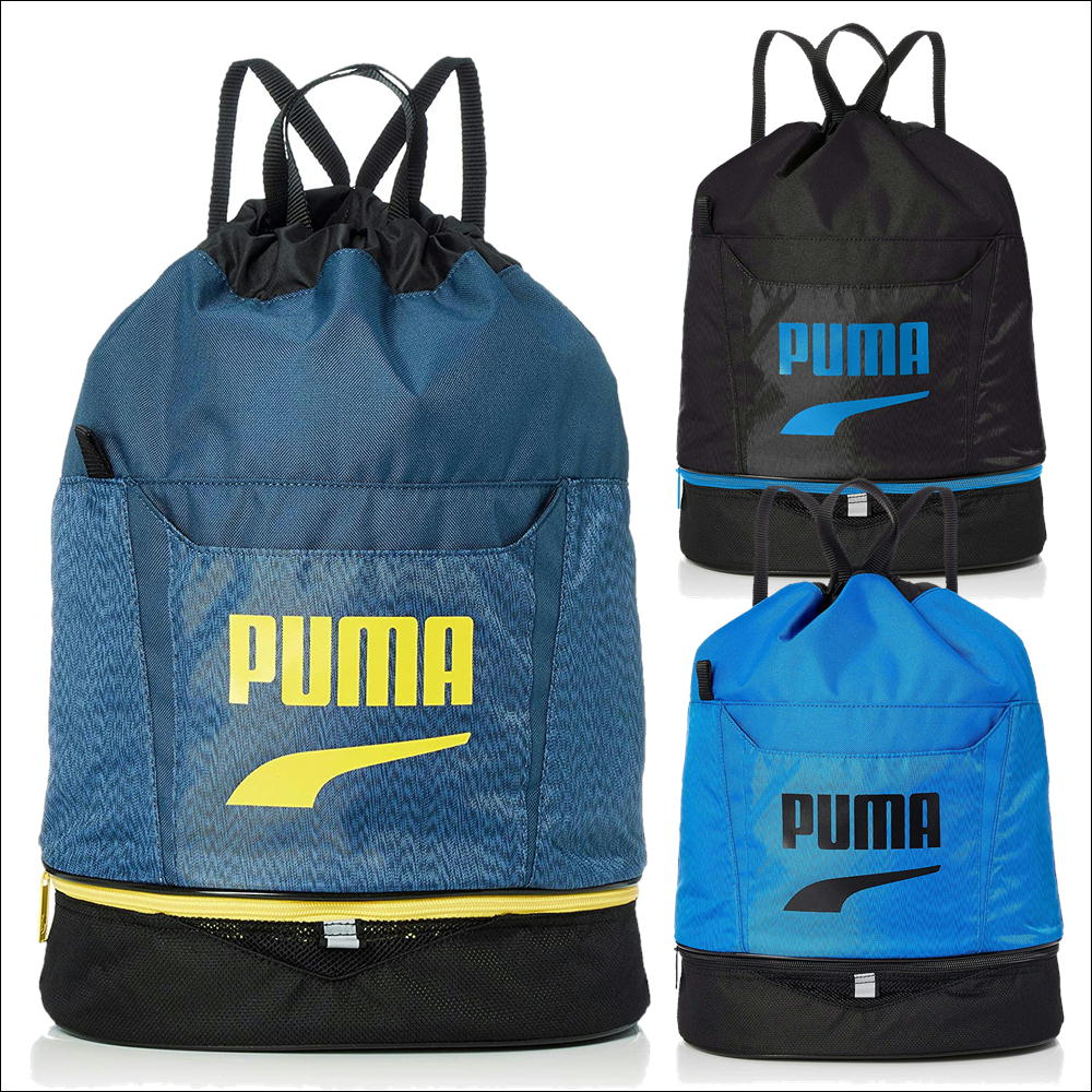 puma プールバッグ プーマ ビーチバッグ 水着入れ 2ルーム ブランドスイムバッグ 水泳 海 小学生 子供 077506