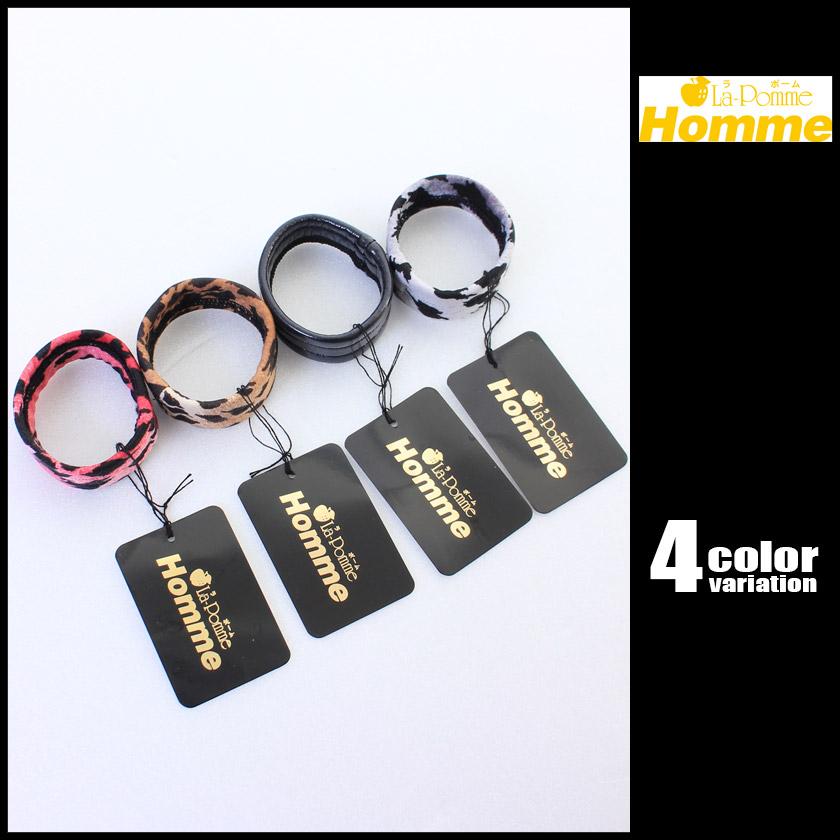 La-PommeHomme/ラポーム・オム ワイドゴム・コックリング メンズ ディックベルト