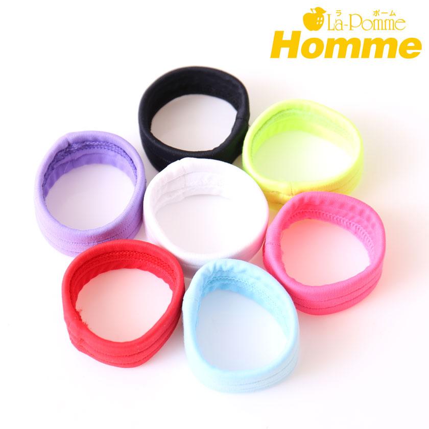 La-PommeHomme/ラポーム・オム ワイドゴム・コックリング メンズ ディックベルト 無地 日本製