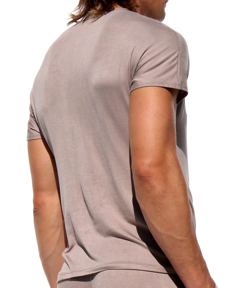 RUFSKIN/ラフスキン EMBER Vネック ドレープ トップス ソフト カジュアルシャツ メンズ ファッション トップス