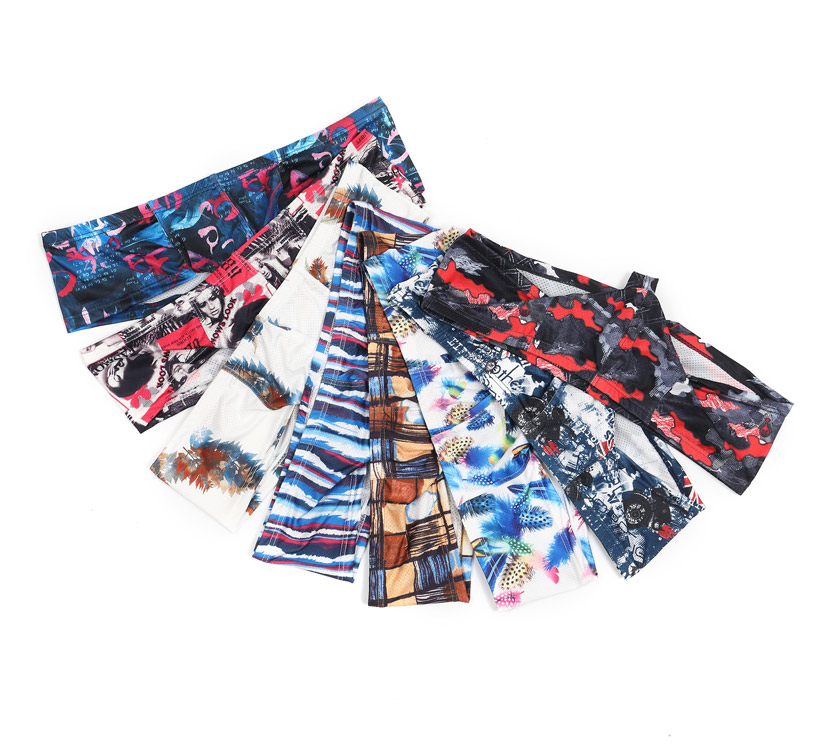 CIOKICX/コキックス バラエティプリント 微細メッシュ 通気性 ショートボクサーパンツ 男性下着 メンズ パンツ 立体縫製 モッコリ