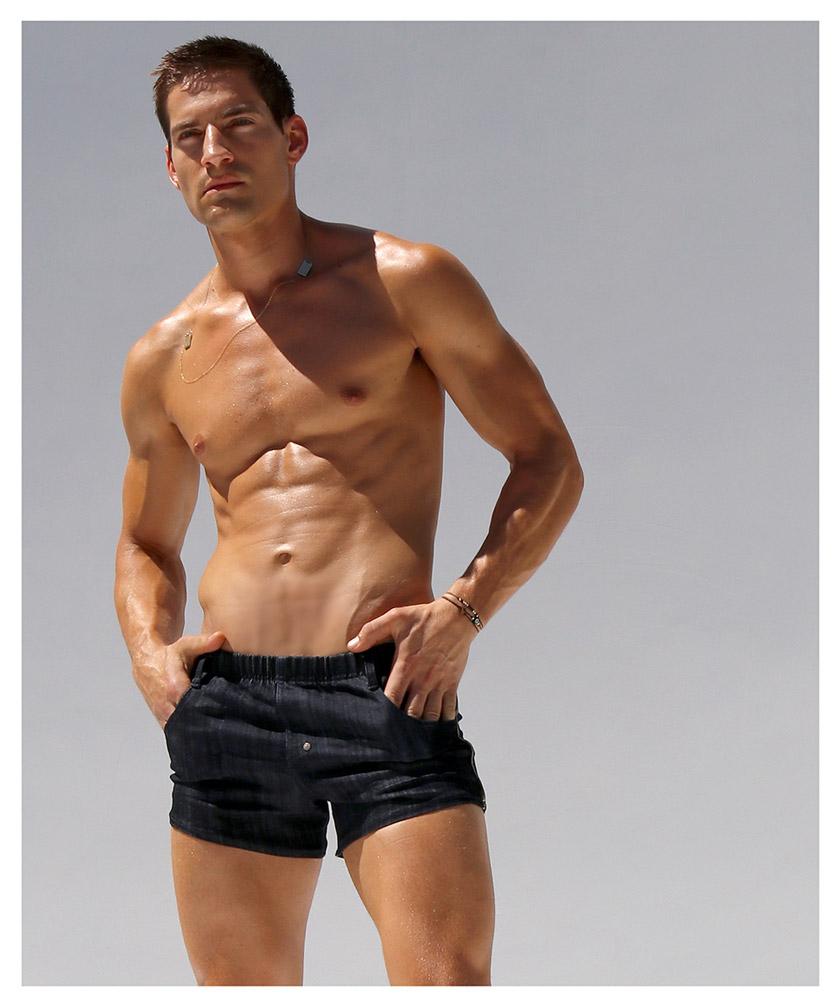 RufSkin/ラフスキン ST TROPEZ ショートジーンズ ジーンズパンツ デニム ジーパン メンズ ファッション ボトムス