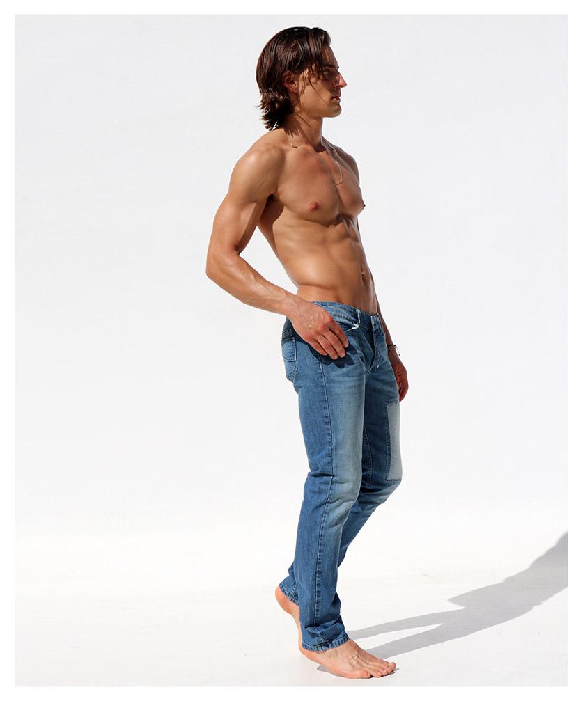 RufSkin/ラフスキン BAILEY ジーンズパンツ デニム ジーパン メンズ ファッション ボトムス