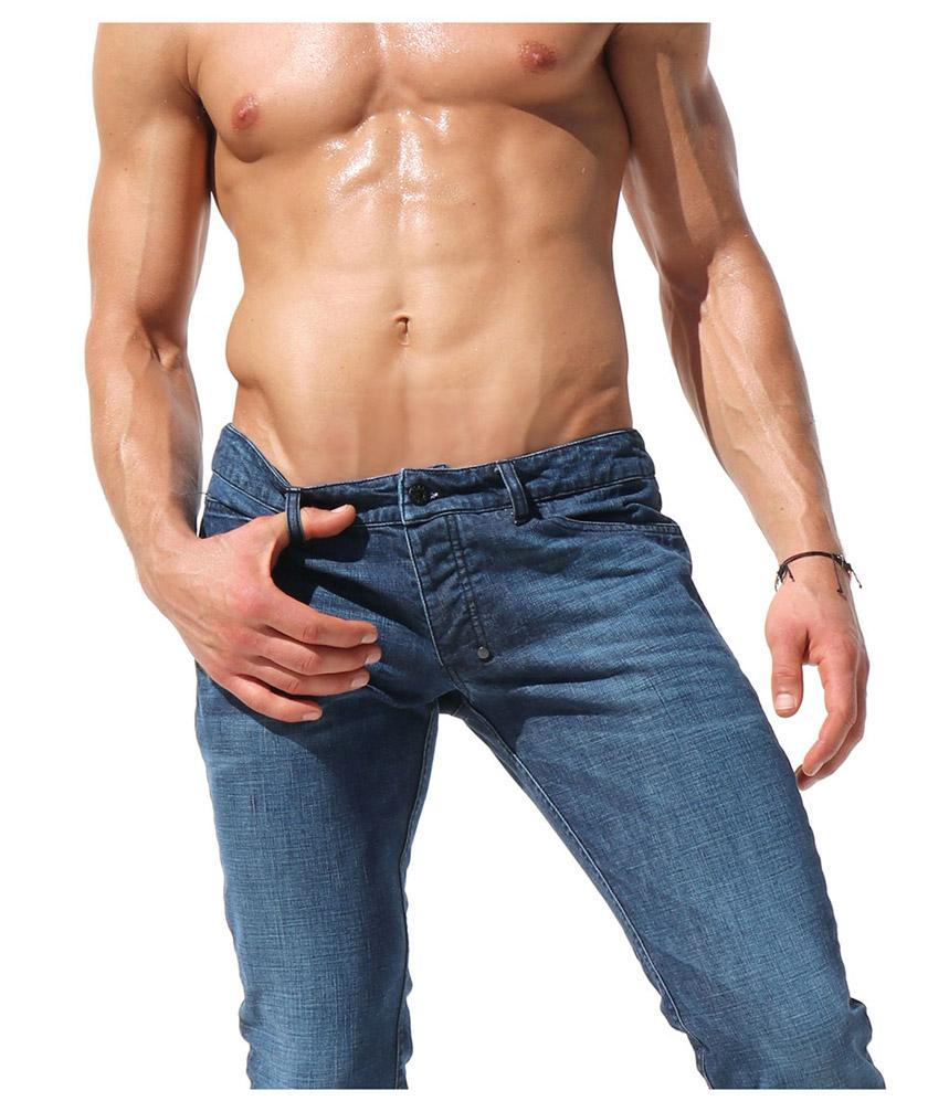 RufSkin/ラフスキン WEST ジーンズパンツ デニム ジーパン メンズ ファッション ボトムス