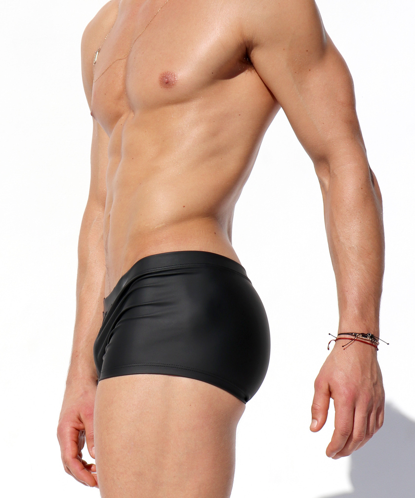 RufSkin/ラフスキン CALIENTE  フェイクレザー ボクサー型ボトムス メンズ スポーツ ボトムス 合成皮革 合皮