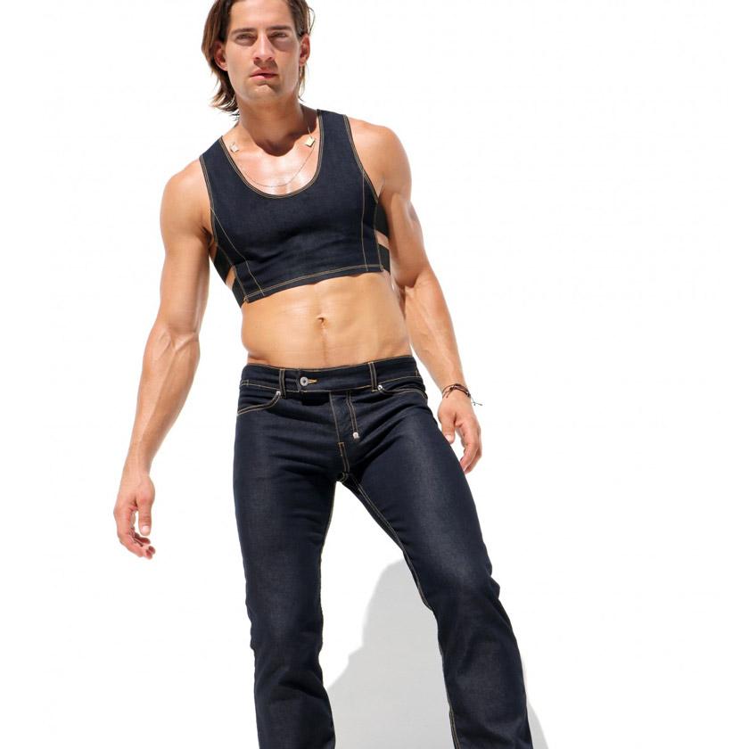 RufSkin/ラフスキン HUSTLER ローライズジーンズ ジーンズパンツ デニム ジーパン メンズ ファッション ボトムス