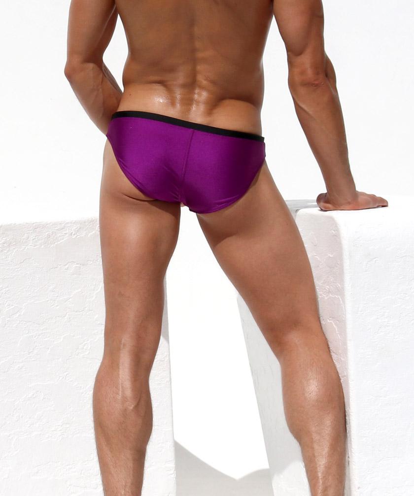 RufSkin/ラフスキン  CODY ローライズ 光沢 フルバック スイムウェア ビキニブリーフ型 メンズ水着 海水パンツ 海パン 男性水着 ビーチウェア