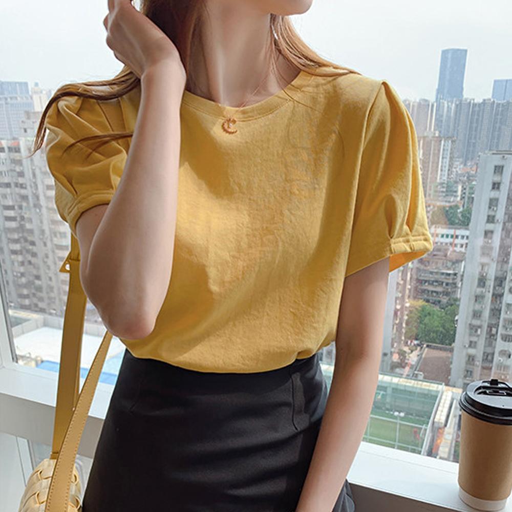 Tシャツ レディーストップス 半袖 カットソー 韓国ファッション カジュアル