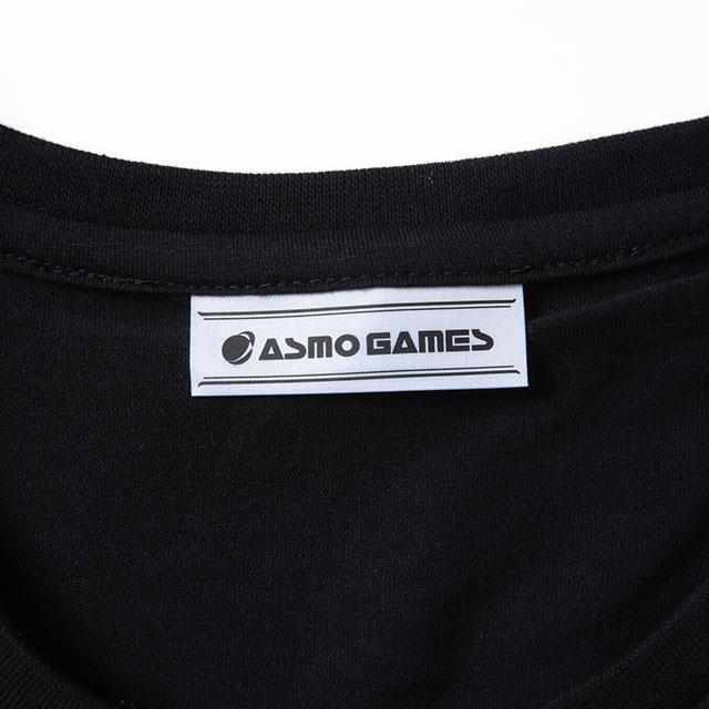 CB_AO4半袖Tシャツ/ブラック&シェル(男女兼用)