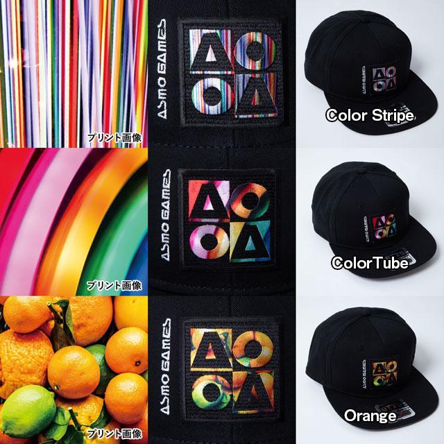 CB_AO4フラットバイザーキャップ/Neon Circle