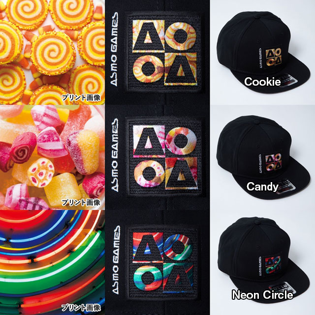 CB_AO4フラットバイザーキャップ/Arcade