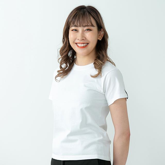 2021TS#2 半袖Tシャツ/ホワイト・ピンク系