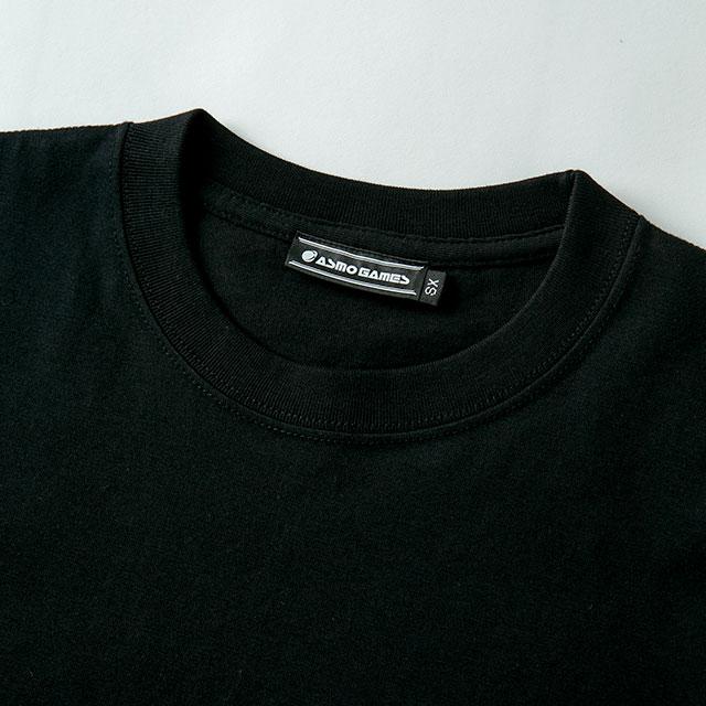 2021TS#2 半袖Tシャツ/ブラック・ピンク系