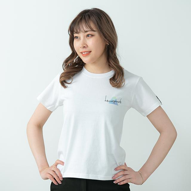 2021TS#3 半袖Tシャツ/ホワイト・ブルー系