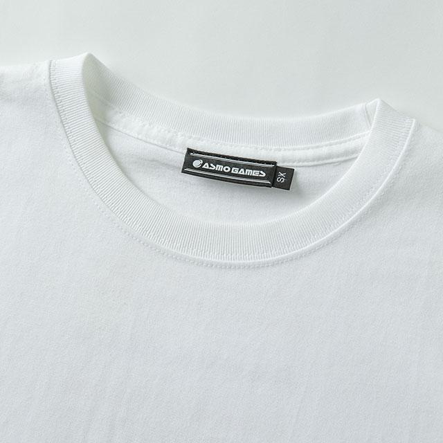 2021TS#3 半袖Tシャツ/ホワイト・ピンク系