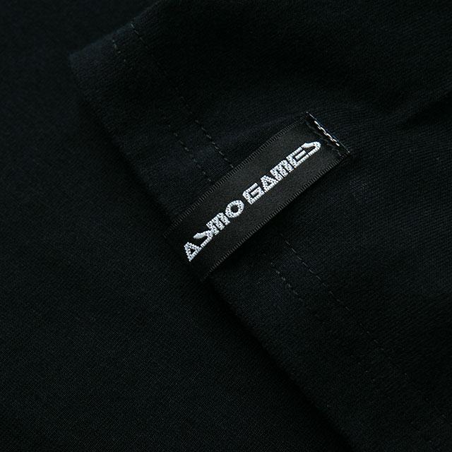 2021TS#4 半袖Tシャツ/ブラック