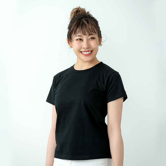 2021TS#8 半袖Tシャツ/ブラック