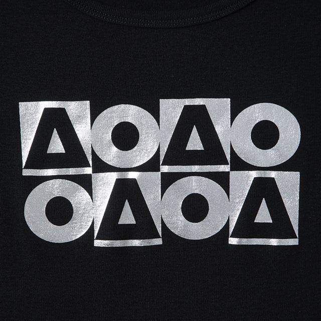 OB_AO8フライス半袖Tシャツ/ブラック(レディース)