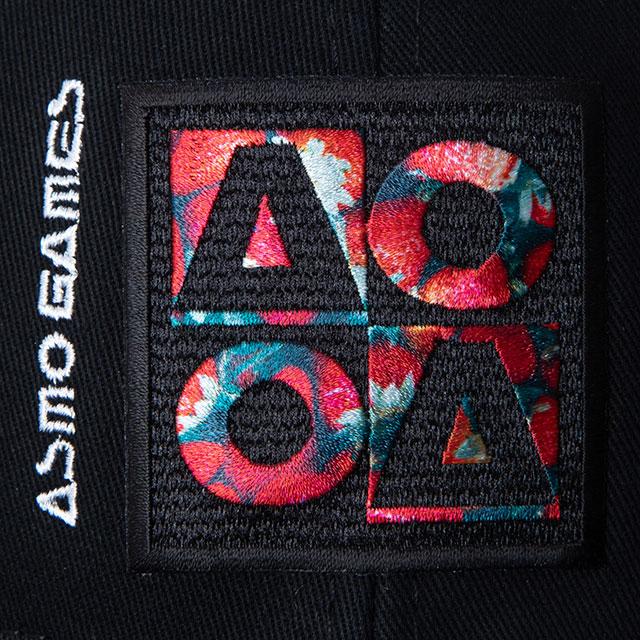 CB_AO4フラットバイザーキャップ/Strawberry