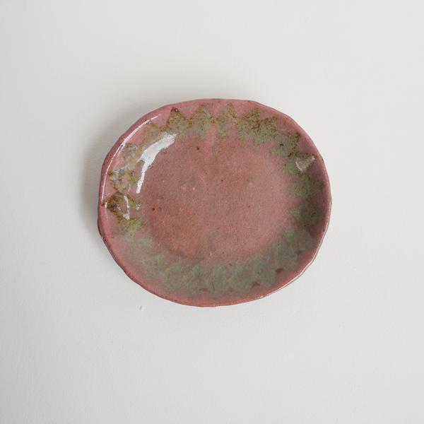 及川静香 ひし形オーバル皿  17cm×19cm