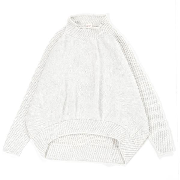 玉木新雌 PO knit ミィラァクル No.D  size Free wool90% cotton10% 500ポイント還元