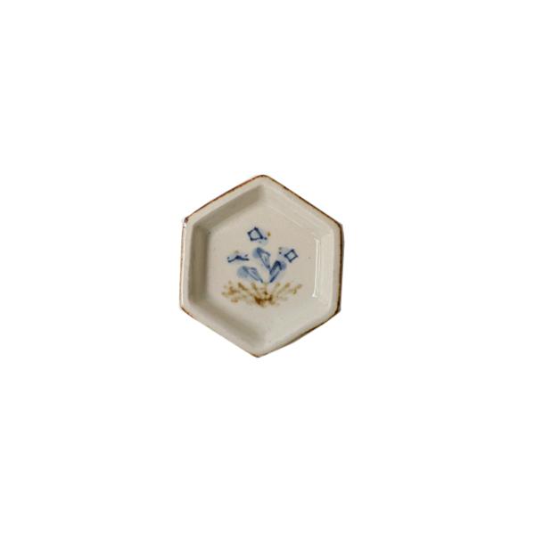 日高直子 六角豆皿 model A