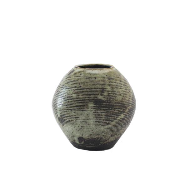 小野哲平 薪窯 丸壺 H16cm