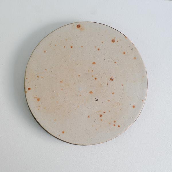 齊藤 隆 飴釉マットパン皿8寸