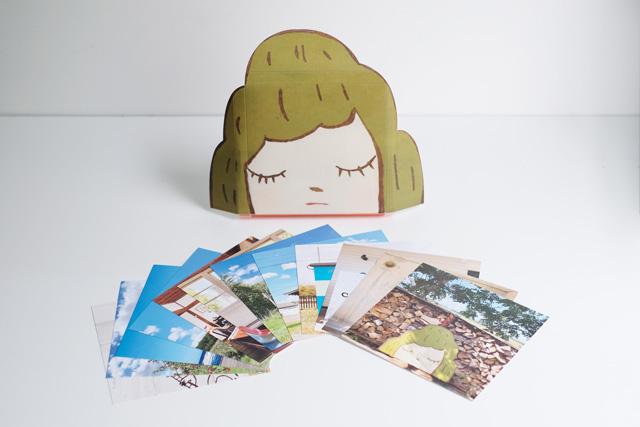 奈良美智『旅する山子ポストカードセット』ネコポス発送専用(2冊まで同梱可能) 送料¥500税込 (送料+包装資材代含む)