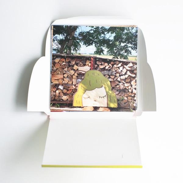 奈良美智『旅する山子ポストカードセット』ネコポス発送専用(1〜2冊まで同梱可能) 送料¥500+税(税込¥550)(送料+包装資材代含む)