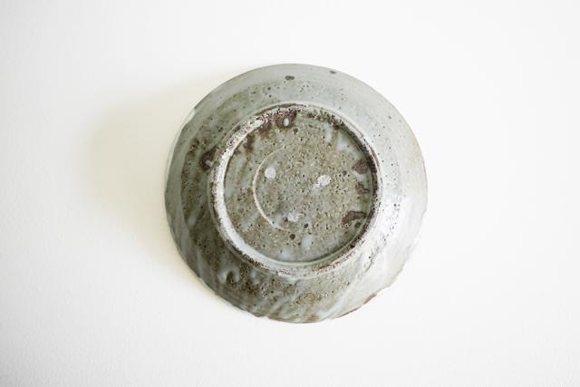 小野哲平 鉄化粧クロス7寸皿 Φ21cm