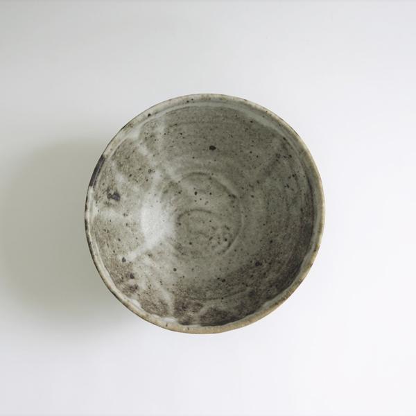 小野哲平 薪窯 中鉢(大) 櫛目縦 Φ20cm