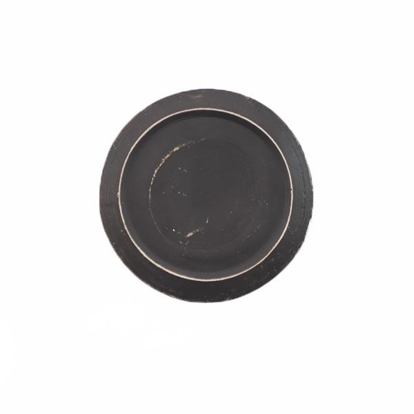 大澤哲哉 Flat plate SS 黒   Φ14.5cm