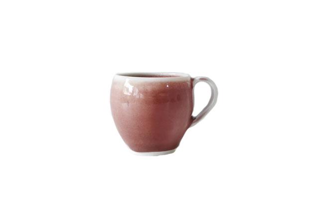 山崎美和 赤マグカップ