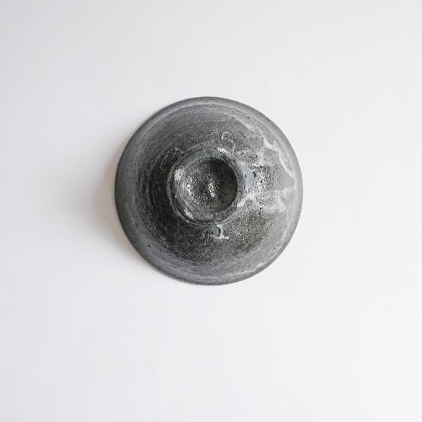 高木剛 鉄化粧5寸鉢 Φ14cm