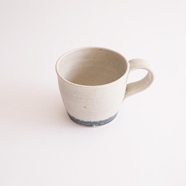 及川静香 呉須マグカップ