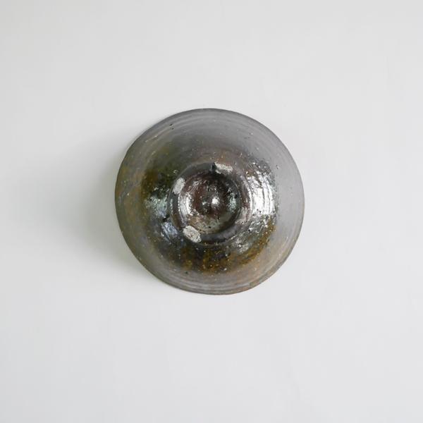 高木剛 鉄化粧5寸鉢 Φ15.5cm
